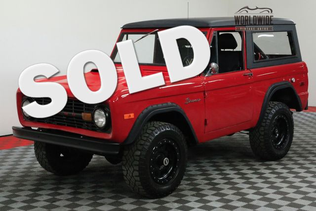 1974 Ford BRONCO 302 V8 4X4 PS 3-SPEED LIFTED MUST SEE | Denver, CO | WORLDWIDE VINTAGE AUTOS