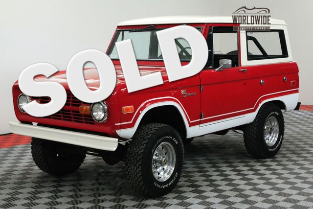 1974 Ford BRONCO UNCUT RESTORED FUEL INJECTED 5.0! PS PB | Denver, CO | WORLDWIDE VINTAGE AUTOS