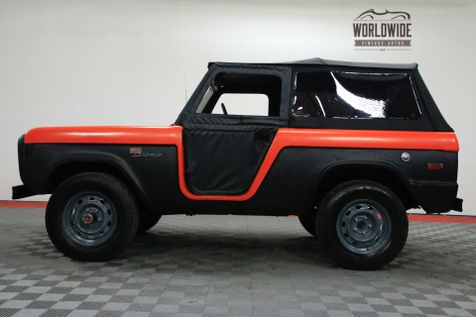 1974 Ford BRONCO CONVERTIBLE 4X4 LIFT SOFT TOP | Denver, CO | WORLDWIDE VINTAGE AUTOS in Denver, CO