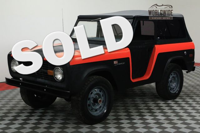 1974 Ford BRONCO CONVERTIBLE 4X4 LIFT SOFT TOP