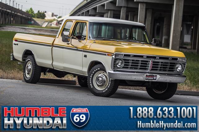 Humble Hyundai 1974 Ford F 350
