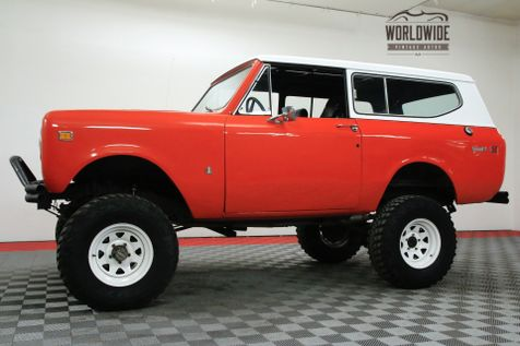 1974 International SCOUT LIFTED V8 AUTO CONVERTIBLE!   Denver, CO   WORLDWIDE VINTAGE AUTOS in Denver, CO