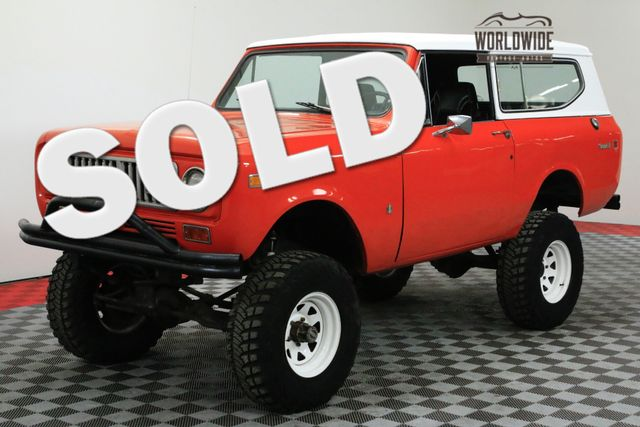 1974 International SCOUT LIFTED V8 AUTO CONVERTIBLE!   Denver, CO   WORLDWIDE VINTAGE AUTOS