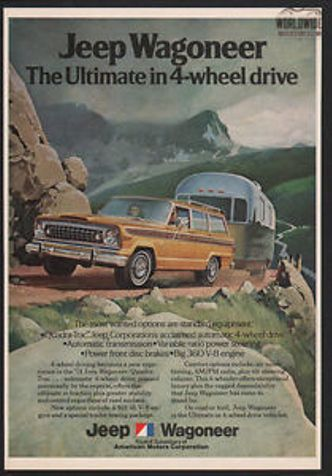1974 Jeep WAGONEER V8 AUTO ORIGINAL 4X4 | Denver, CO | WORLDWIDE VINTAGE AUTOS in Denver, CO