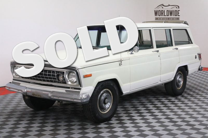 1974 Jeep WAGONEER V8 AUTO ORIGINAL 4X4 | Denver, CO | Worldwide Vintage Autos