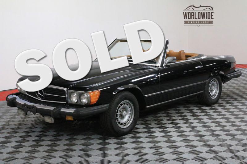 1974 Mercedes-Benz 450SL 2 OWNER 53000 MILES V8 AUTO | Denver, CO | WORLDWIDE VINTAGE AUTOS