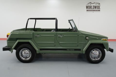 1974 Volkswagen THING EXTREMELY CLEAN CONVERTIBLE TOP | Denver, CO | Worldwide Vintage Autos in Denver, CO