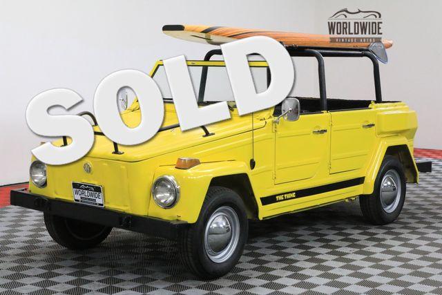 1974 Volkswagen THING TYPE 181 VW TEXAS CAR CONVERTIBLE RARE | Denver, Colorado | Worldwide Vintage Autos