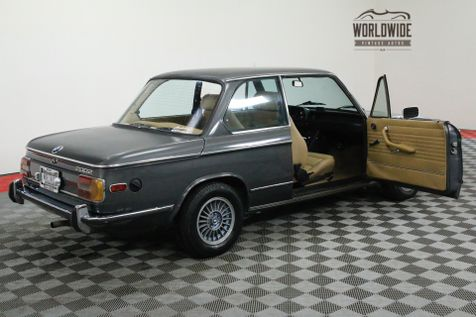 1975 BMW 2002 4-SPEED SMALL BUMPERS RECARO SEATS MUST SEE | Denver, CO | Worldwide Vintage Autos in Denver, CO