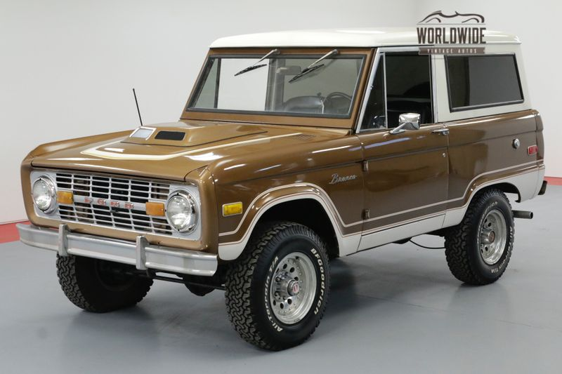 1975 Ford BRONCO UNCUT RANGER! 302V8 AUTO NEW AND BEAUTIFUL | Denver, CO | Worldwide Vintage Autos