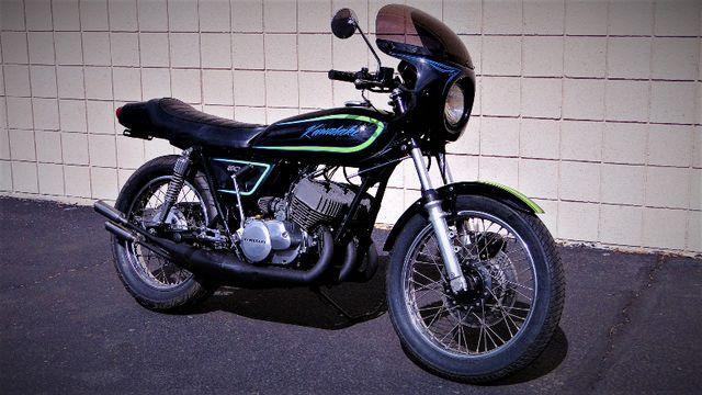 1975 Kawasaki H1 500cc 2-STROKE TRIPLE  CAFE' RACER  OIL INJECTED TWO-STROKE Phoenix, Arizona 2