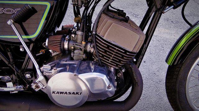 1975 Kawasaki H1 500cc 2-STROKE TRIPLE  CAFE' RACER  OIL INJECTED TWO-STROKE Phoenix, Arizona 3