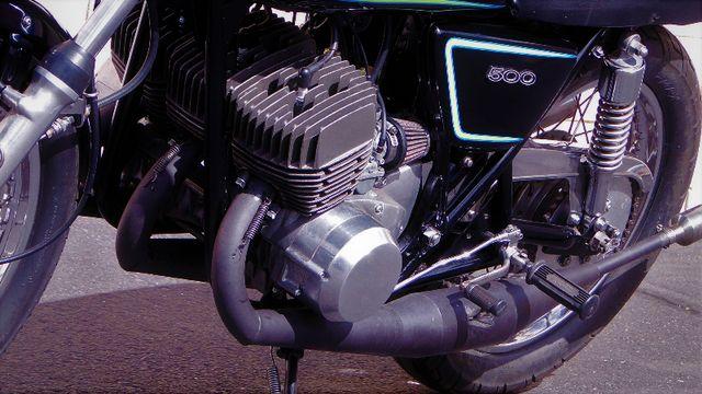 1975 Kawasaki H1 500cc 2-STROKE TRIPLE  CAFE' RACER  OIL INJECTED TWO-STROKE Phoenix, Arizona 1