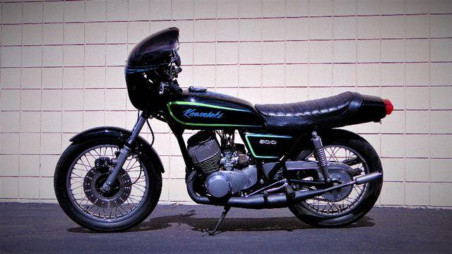 1975 Kawasaki H1 500cc 2-STROKE TRIPLE  CAFE' RACER  OIL INJECTED TWO-STROKE Phoenix, Arizona 8