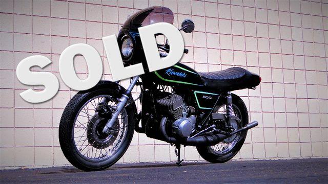 1975 Kawasaki H1 500cc 2-STROKE TRIPLE  CAFE' RACER  OIL INJECTED TWO-STROKE Phoenix, Arizona 0