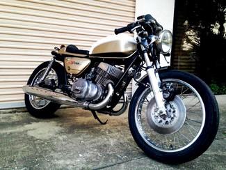 1975 suzuki gt500 custom vintage cafe racer | cocoa, florida