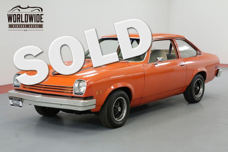 1976 Chevrolet VEGA NOTCHBACK 2 DOOR COLLECTOR GRADE | Denver, CO | Worldwide Vintage Autos