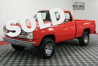 1976 Dodge W100 in Denver CO