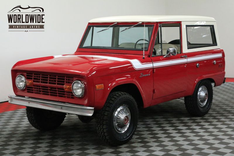 1976 Ford BRONCO RESTORED RARE UNCUT V8 EXPLORER PS   Denver, CO   WORLDWIDE VINTAGE AUTOS