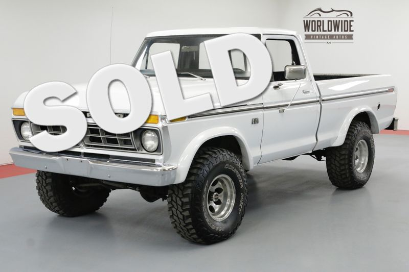 1976 Ford F-150 4X4 REBUILT 460 MOTOR 4 SPEED PS PB | Denver, CO | Worldwide Vintage Autos
