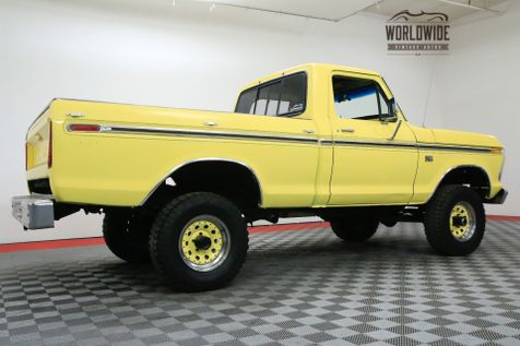 1976 Ford F100 RARE SHORT BOX 6 CYLINDER 4X4 LIFTED | Denver, CO | WORLDWIDE VINTAGE AUTOS in Denver, CO
