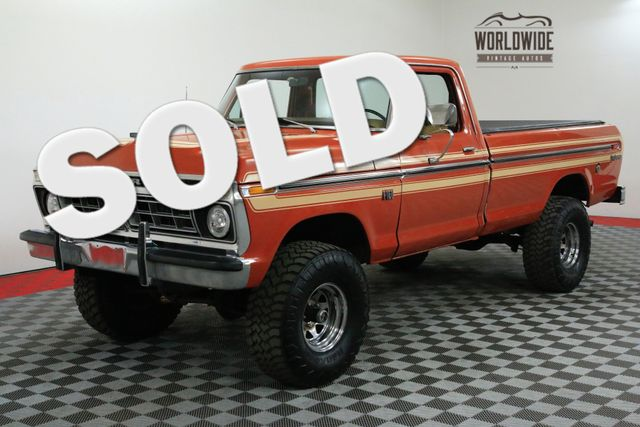 1976 Ford F150 ORIGINAL PAINT/DECAL COLLECTOR GRADE | Denver, CO | WORLDWIDE VINTAGE AUTOS