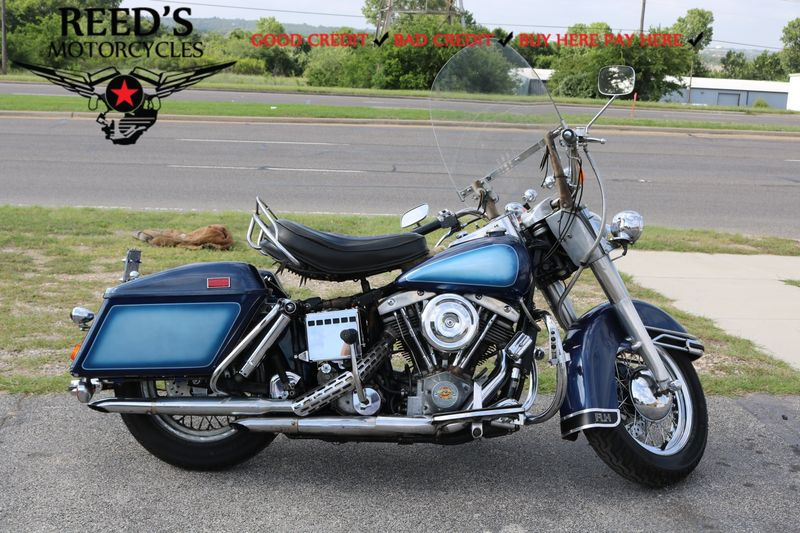 1976 Harley Davidson FLH 1200 CASH ONLY  | Hurst, Texas | Reed's Motorcycles in Hurst Texas