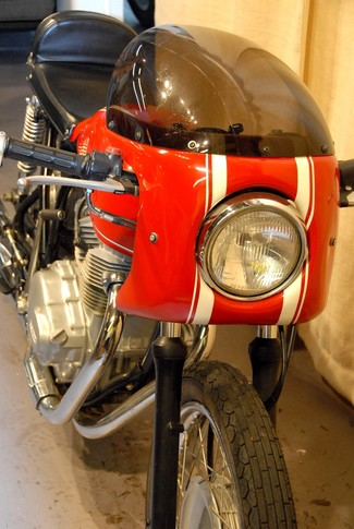 1976 Honda HONDA CJ360 T BUILT TO ORDER VINTAGE CAFE RACER MOTORCYCLE Cocoa, Florida 11