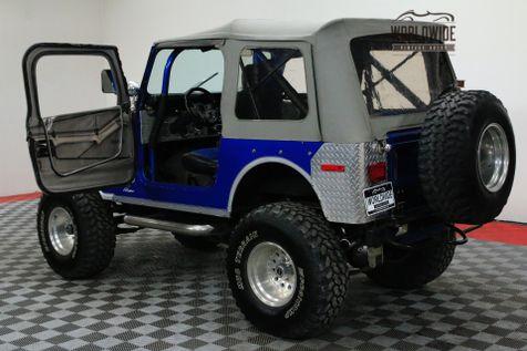 1976 Jeep CJ7 LIFTED 4X4 AMC V8 HOLLEY FUEL INJECTION | Denver, CO | WORLDWIDE VINTAGE AUTOS in Denver, CO