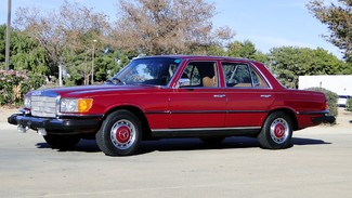 1976 Mercedes-Benz 450SE W116 S-CLASS ONE FAMILY OWNED DEALER SERVICED FROM NEW Phoenix, Arizona