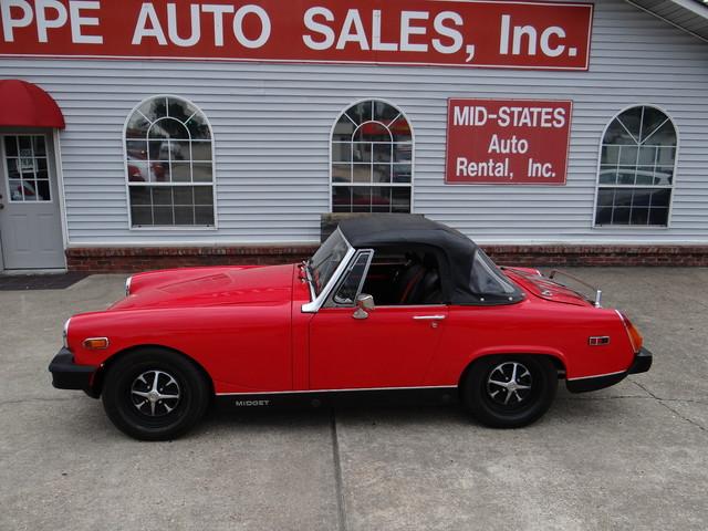 1976 Mg Midget  | Paragould, Arkansas | Hoppe Auto Sales, Inc. in Paragould Arkansas