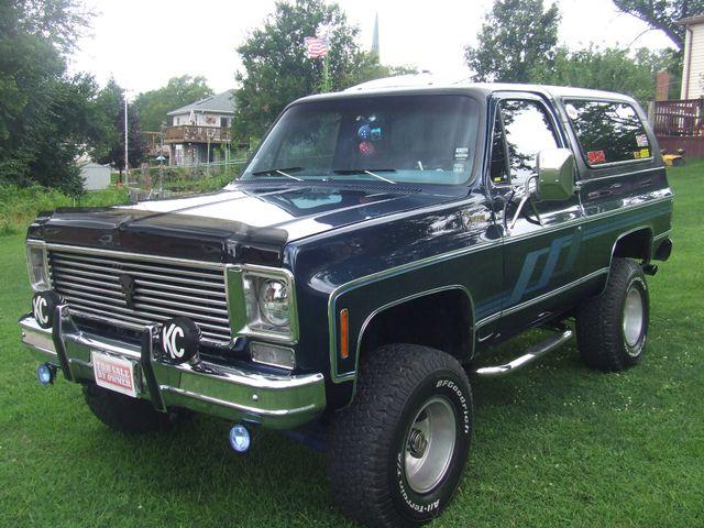 1977 Chevrolet Blazer Mokena Illinois Classic Cars America