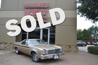 1977 Chevrolet El Camino  | Arlington, Texas | McAndrew Motors in Arlington, TX Texas