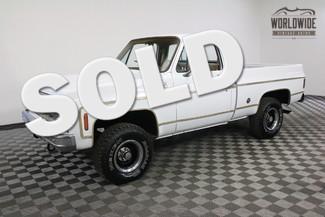1977 Chevrolet K10 SILVERADO SHORTBED in Denver Colorado