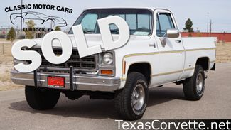 1977 Chevrolet K10 in Lubbock Texas