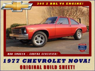 1977 Chevrolet Nova ORIGINAL BUILD SHEET! Mooresville , NC