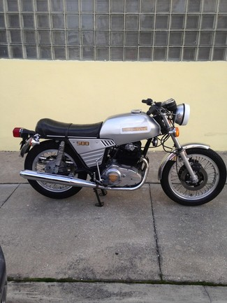 1977 Ducati 500 GTL MADE TO ORDER VINTAGE CAFE RACER Cocoa, Florida 2