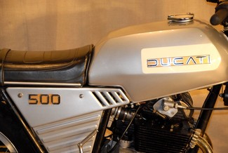 1977 Ducati 500 GTL MADE TO ORDER VINTAGE CAFE RACER Cocoa, Florida 14