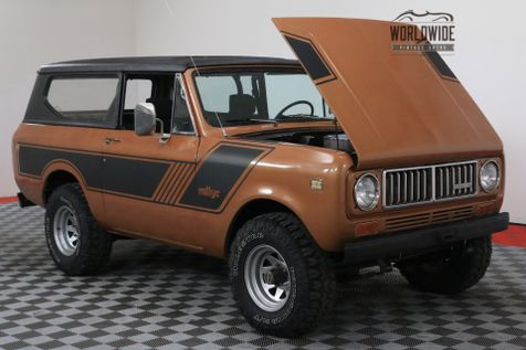1977 International SCOUT II RESTORED 345 V8 4X4 AZ TRUCK PS PB | Denver, CO | WORLDWIDE VINTAGE AUTOS in Denver, CO