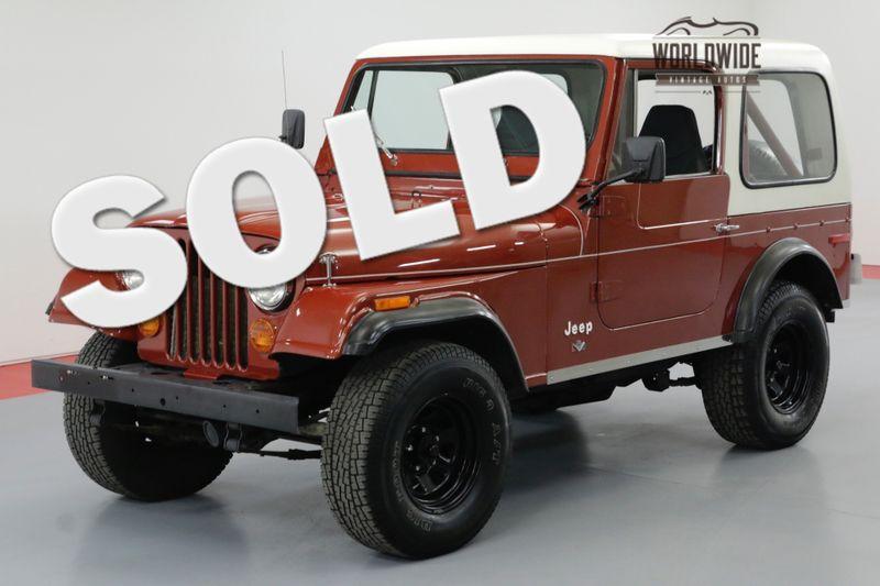 1977 Jeep CJ7 ORIGINAL V8 4X4 RARE A/C AUTO PS PB | Denver, CO | Worldwide Vintage Autos