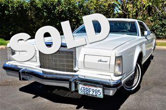 1977 Lincoln Continental Mark V Cartier Reseda, CA