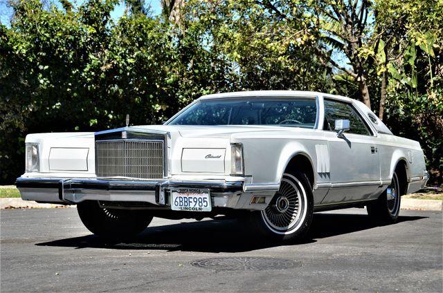 1977 Lincoln Continental Mark V Cartier Reseda, CA 27