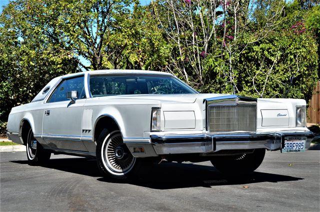 1977 Lincoln Continental Mark V Cartier Reseda, CA 30