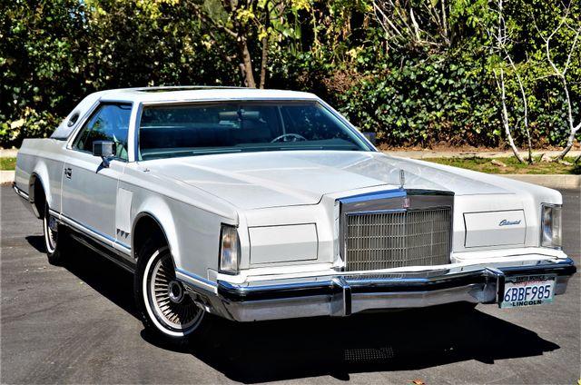 1977 Lincoln Continental Mark V Cartier Reseda, CA 31