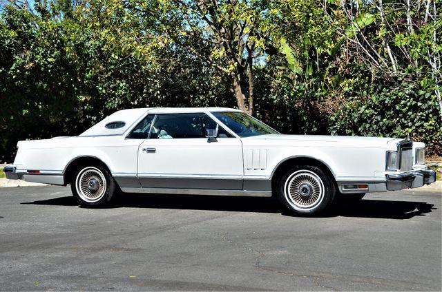 1977 Lincoln Continental Mark V Cartier Reseda, CA 34