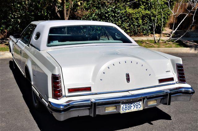 1977 Lincoln Continental Mark V Cartier Reseda, CA 2