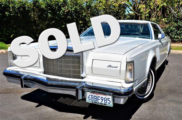1977 Lincoln Continental Mark V Cartier Reseda, CA 0