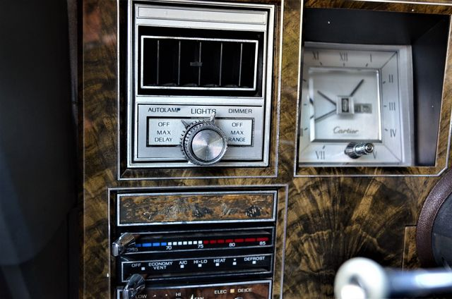 1977 Lincoln Continental Mark V Cartier Reseda, CA 45