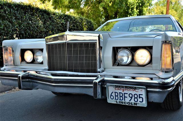 1977 Lincoln Continental Mark V Cartier Reseda, CA 1