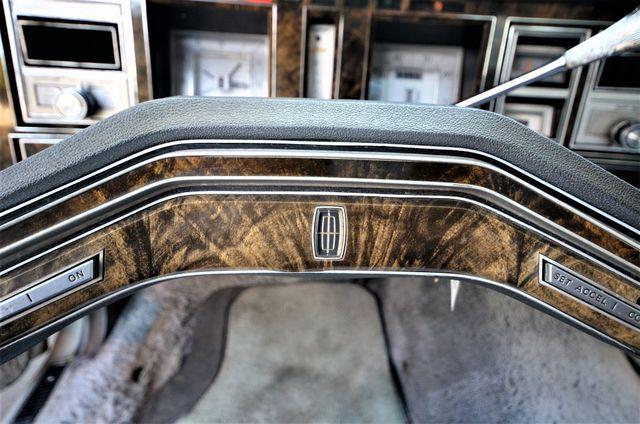 1977 Lincoln Continental Mark V Cartier Reseda, CA 13